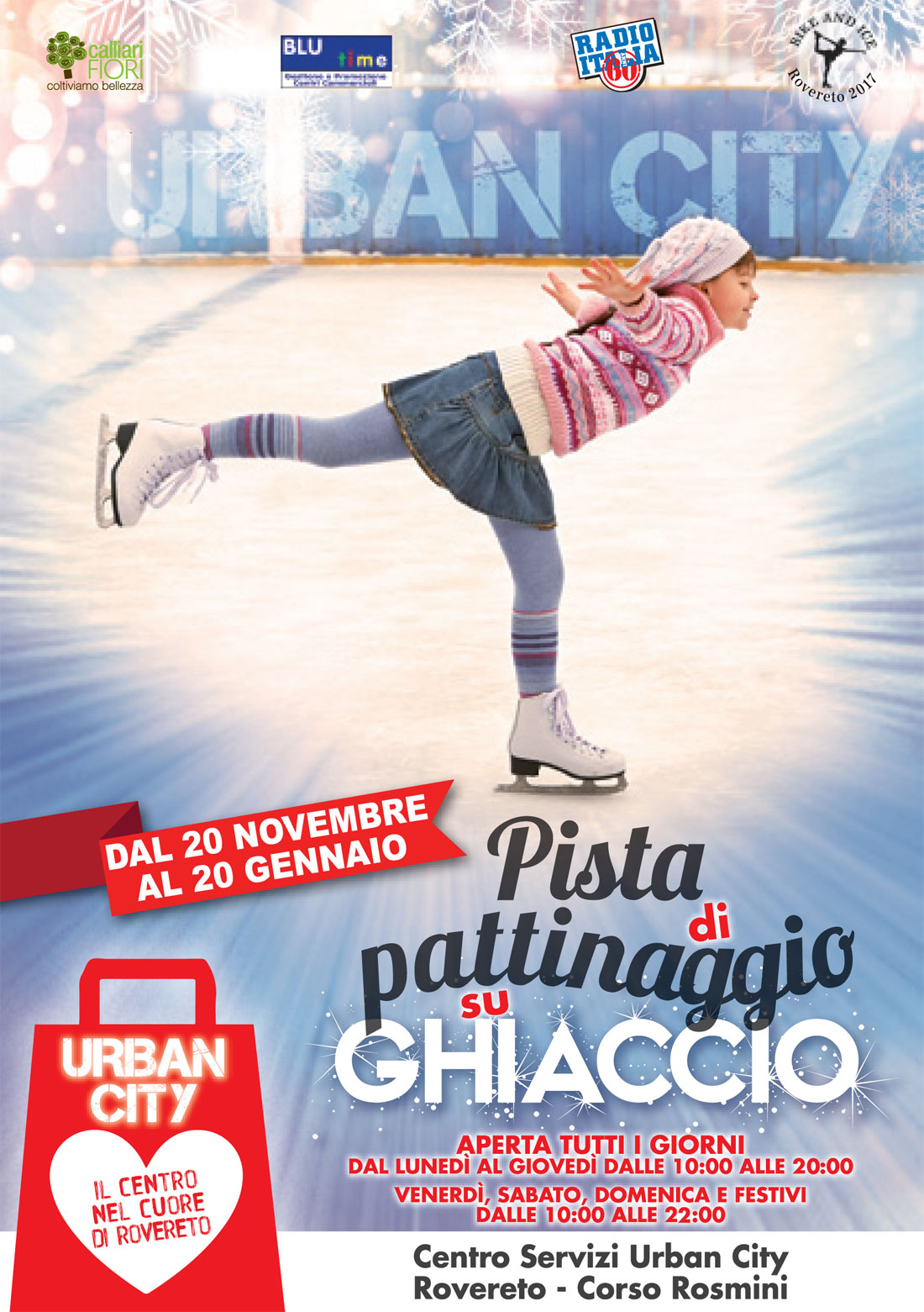 ALL'URBAN CITY DI ROVERETO SI PATTINA